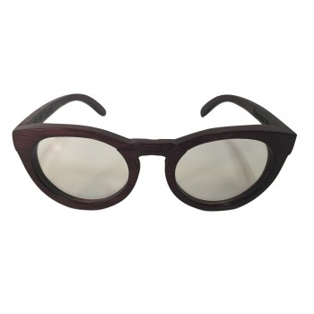VELVETIERE -  Wooden Optical Frame in Red Bamboo