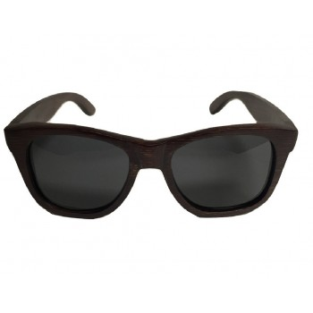 GALANT - Wooden Sunglasses in Red Stained Bamboo