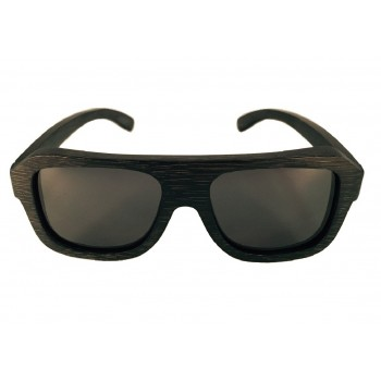 POSITIVE - Wooden Sunglasses in Black Bamboo