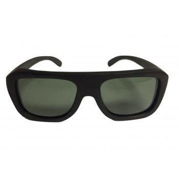 EBONIER - Wooden Sunglasses in Black Ebony Wood