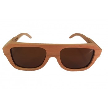 CHERRY CREEK - Wooden Sunglasses in Cherry Wood