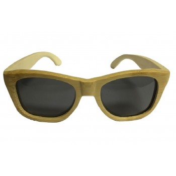 Wooden Sunglasses in Natural Bamboo Wood